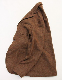 CANDIDUM Tweed 3 Button Sports Jacket BROWN (5)