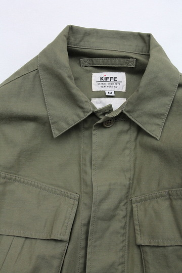 KIFFE Jangle Fatigue Jacket OLIVE (2)