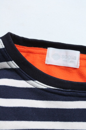 soglia Border Crew Fleece ORANGE (2)