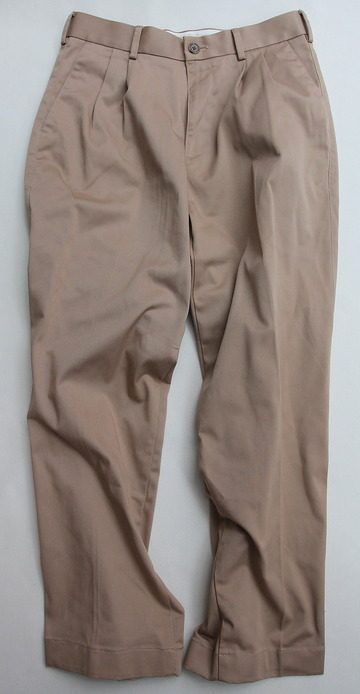 KIFFE Officer Wide Trousers BEIGE (4)