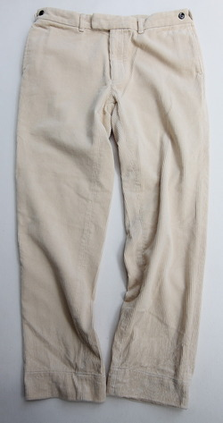Arbre Mid Well Corduroy Pants CREAM (7)