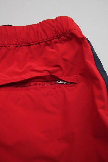 MIDA Nylon Shorts with Linner RED X NAVY (4)