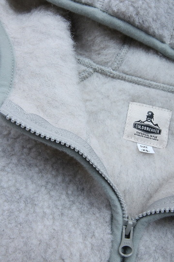 COLDBREAKER Hood Jacket LIGHT GREY (3)