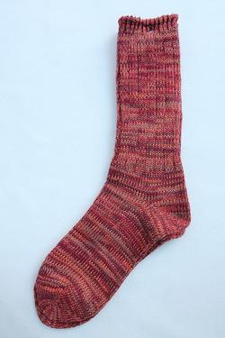 Anonymous Isme 5 Color Mix Socks WINE (3)