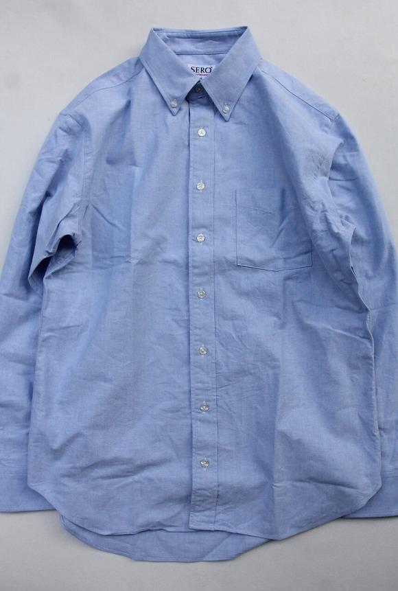 SERO Oxford BD Shirt BLUE
