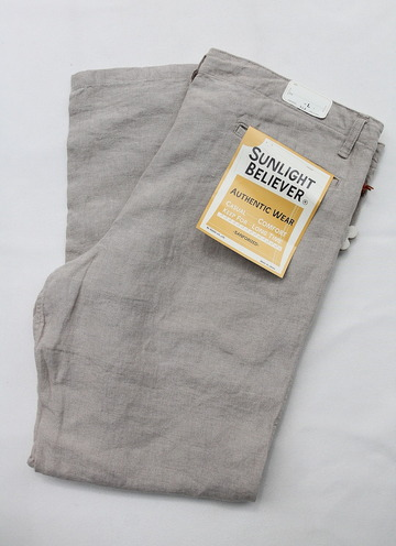 Sunlight Believer Linen Relax Pants PDF