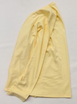 Quotidien 1X1 Cotton Rib Cardigan LEMON (5)
