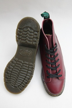 Solovair Oxblood 7Eye Monkey Boot CHERRY (6)