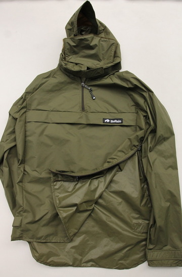 Buffalo Wind Shirt with Unlined Hood OLIVE (7)