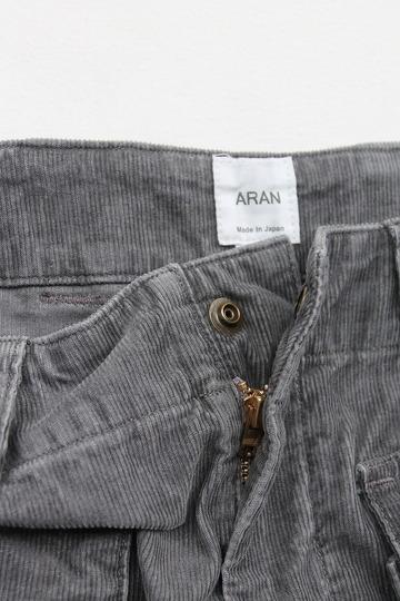 ARAN MCP Shorts CORD GREY (2)