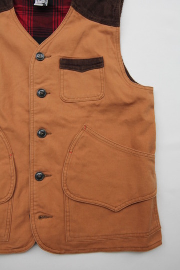 Chums Hurricane Work Vest CAMEL (6)