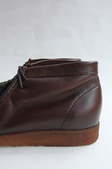 HTS Upper Sheep Skin Wallabee D BROWN (7)