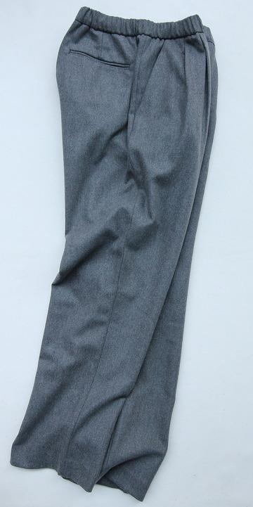 CEASTERS 2Pleats Easy Trousers GREY  by Burel (8)