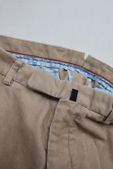 DC WHITE Corduroy Basic Pants BEIGE (2)