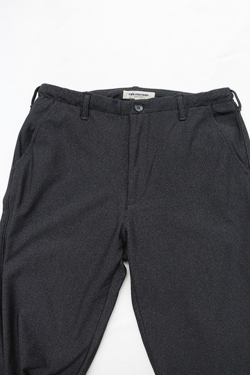FOB Easy Pants Heat Performar Herringbone CHARCOAL (3)