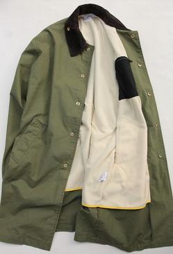 NOUN Coach Coat OLIVE (6)