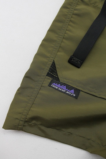 Thousand Mile Wall Shorts OLIVE (3)