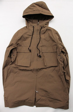 MASRA Hooded Parker KHAKI