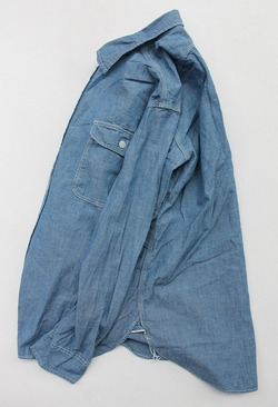 R & Vintage 5 oz Chambray LS TN Shirt (5)