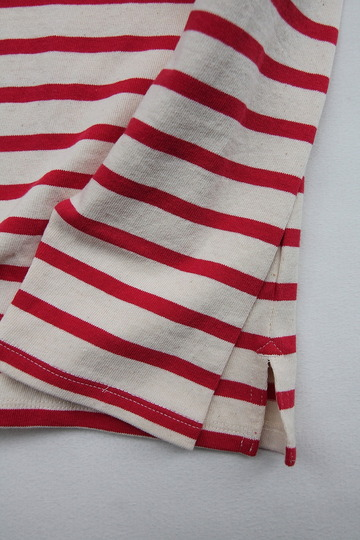 TENJIKUYA LS Border Tshirt NTL x RED (4)