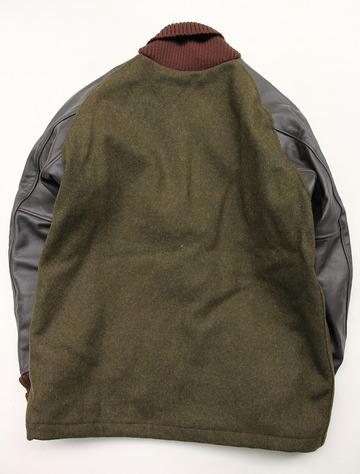 SKOOKUM Sur Coat OLIVE X BROWN (8)