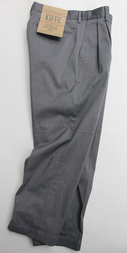 KIFFE Officer Wide Trousers Top GREY (5)