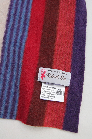 Robert Sim S647 Boiled Wool Multi Stripe (3)