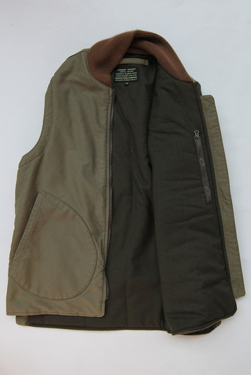 Keaton Chase Military Deck Vest Bedford Cloth OLIVE (5)
