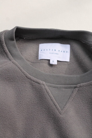 KESTIN HARE Hayamarket Sweat HEATHER GREY (2)