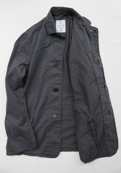 Harrow Town Stores Cotton Jacket OFF BLACK (3)