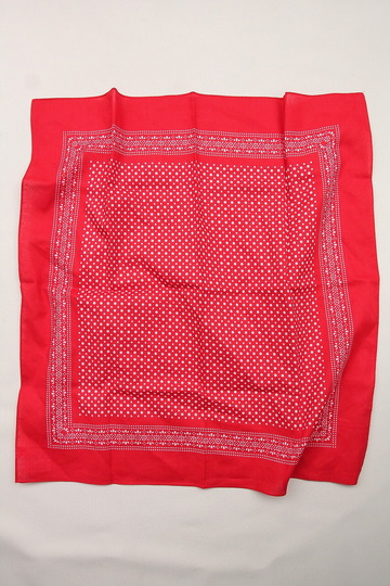 modas Dot Bandana RED (2)