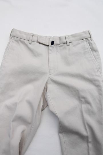 DC WHITE Pique Basic Pants IVORY (4)