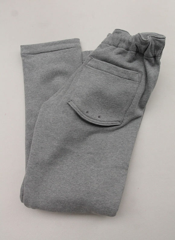 Arbre HW Cotton Sweat Easy Pants GREY