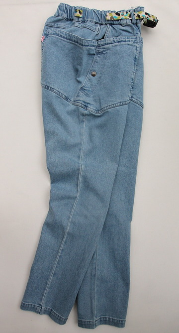 Chums Stretch  Camping Denim Pants  LIGHT INDIGO (6)