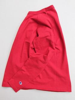 Champion T1011 Raglan Long Sleeve Tee RED (4)