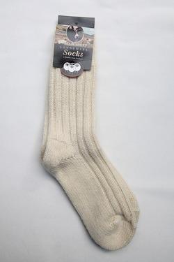 Jacob Sheep Connemara Socks NATURAL (2)