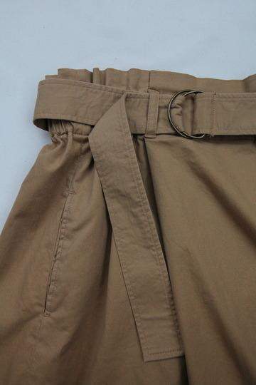 Le Ciel de Harriss Burshed Twill  Skirt TAN (4)