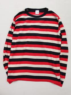 Baxter Ratcliff Tricolor Stripe LS Sweatshirts Flatlock