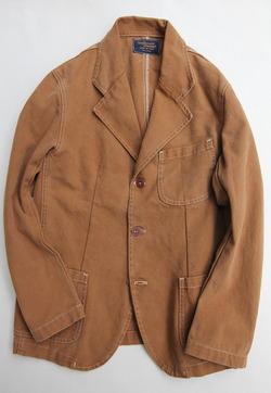 Carifornia Brand Brown Duck Blazer 3 Button