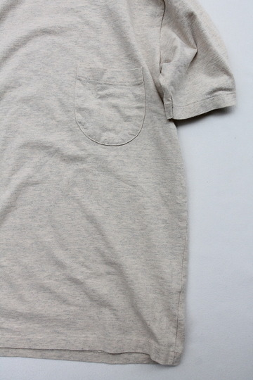 MIXTA Crew Neck with Pocket OATMEAL (3)