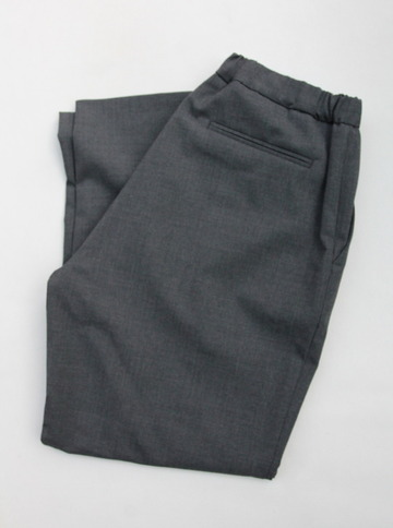 CESTERS No Pleats Easy Trousers GREY