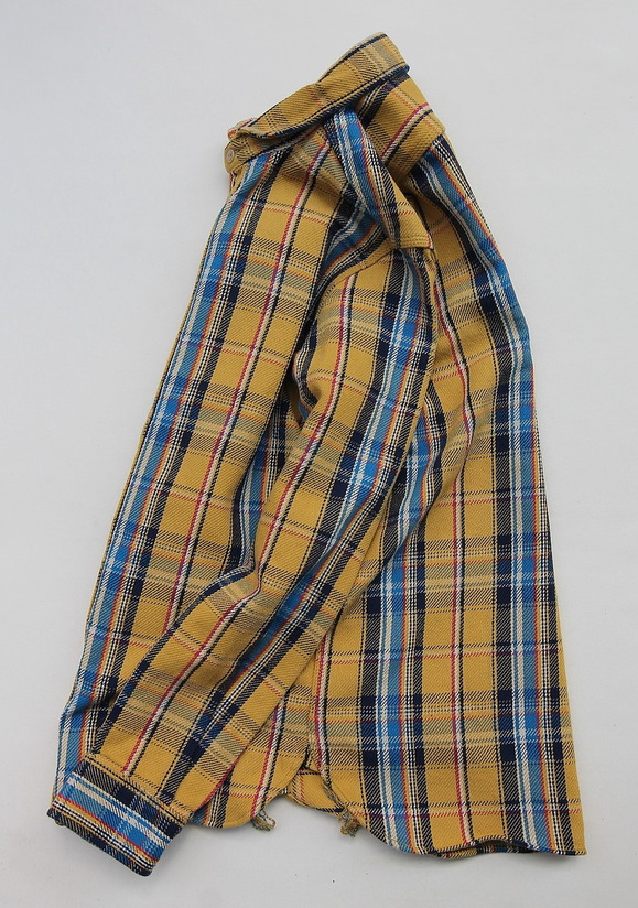 Harriss 55012 Heavy Twill Plaid YELLOW (2)