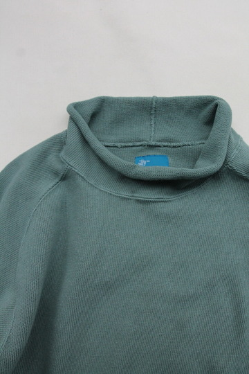 Goodon Bottle Neck Knit Cut G GREEN (2)
