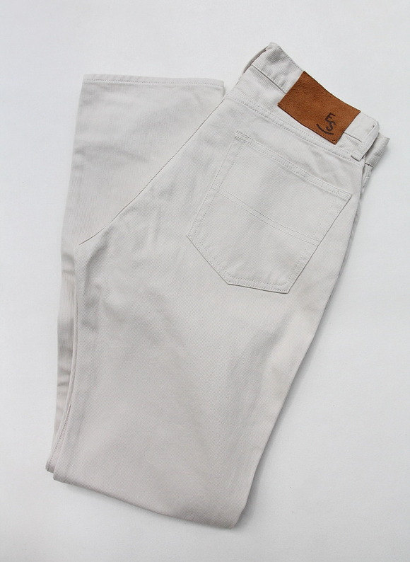 Empire & Sons 5Pocket Straight Taperd Pique Pants SAND BEIGE