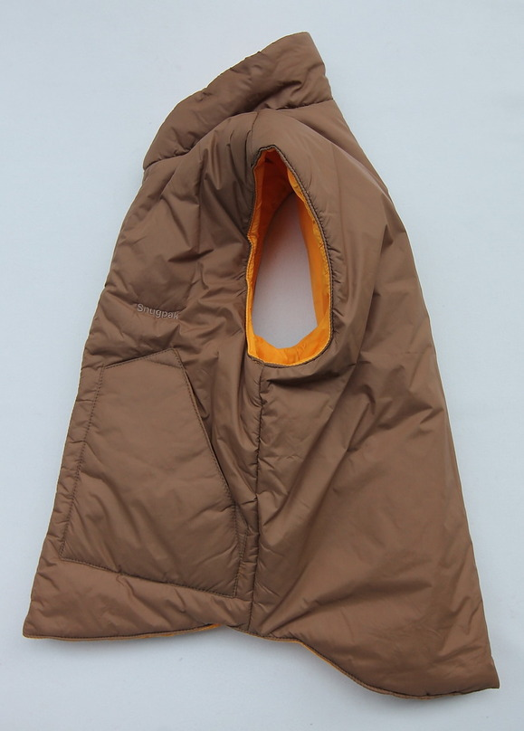 Snugpak Airpack Vest LATVIAN TAN X YELLOW (2)