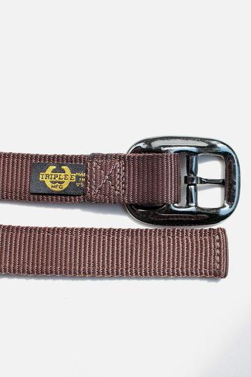 TRIPLEE Nylon Belt BROWN (3)
