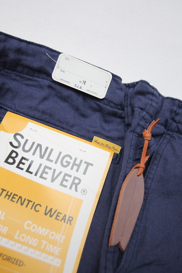 Sunlight Believer Irish Linen Relax Pants NAVY (4)