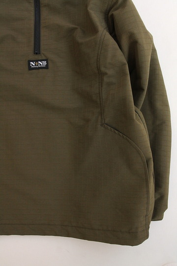 North by North East Rip Stop Pullover Jacket KHAKI (3)