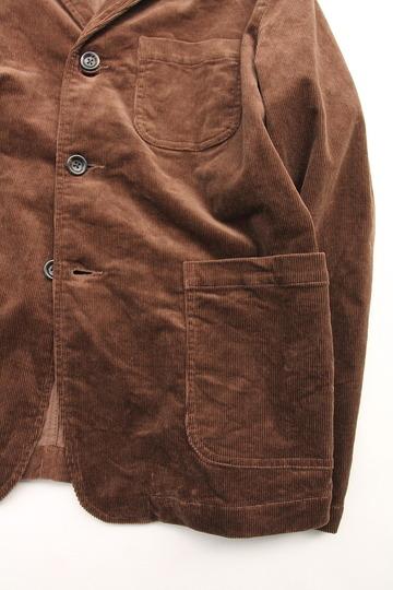 Harriss Stretch Corduroy 3 Button Blazer BROWN (3)