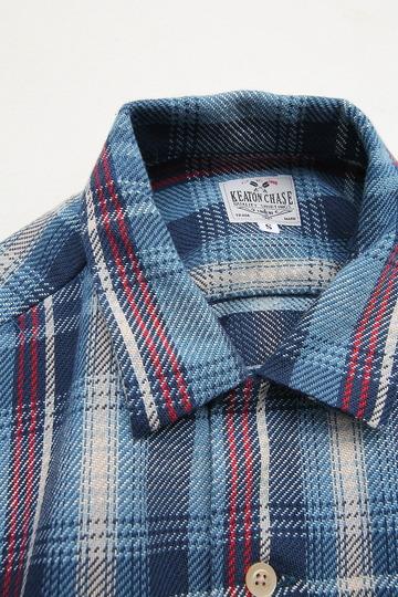 Keaton Chase Japan LS Camp Shirts BLUE (3)